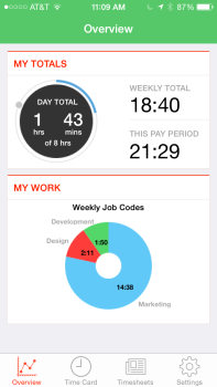 overview on mobile - TSheets - Time tracking built for QuickBooks