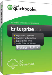 QuickBooks Products QuickBooks Enterprise 2018