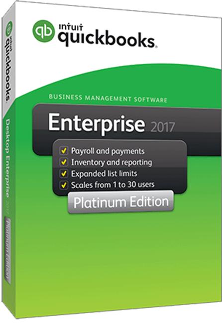 QuickBooks Enterprise Solutions 2017