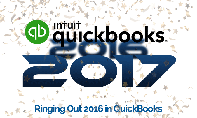 Ringing Out 2016 In QuickBooks