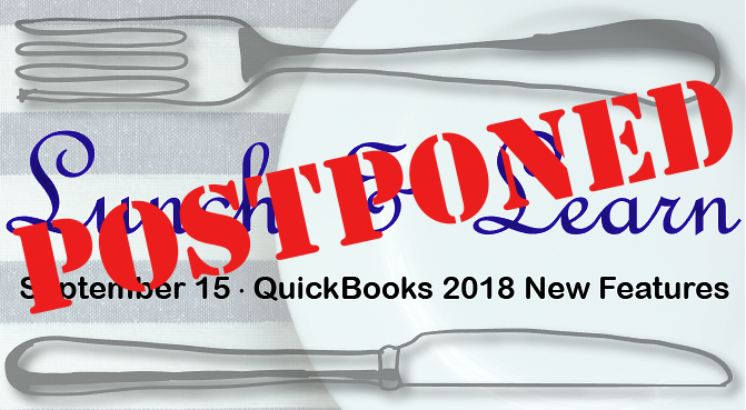 Lunch & Learn: QuickBooks 2018 New Features