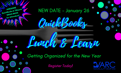 QUICKBOOKS LUNCH & LEARN: Getting Organized For The New Year