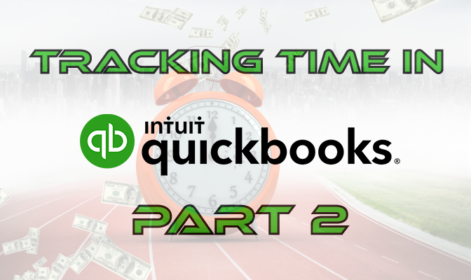 Tracking Time In QB 2