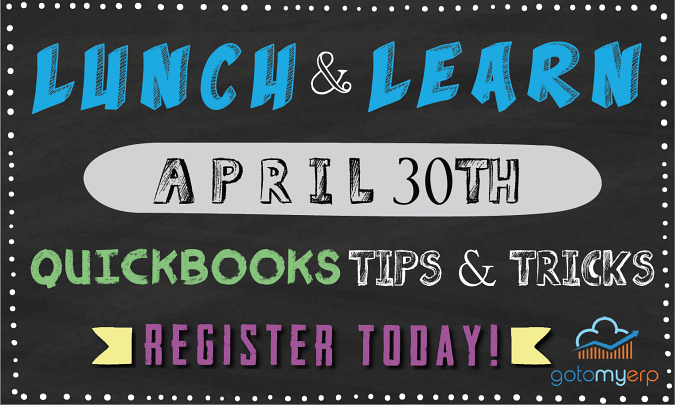 LUNCH & LEARN: QUICKBOOKS TIPS & TRICKS