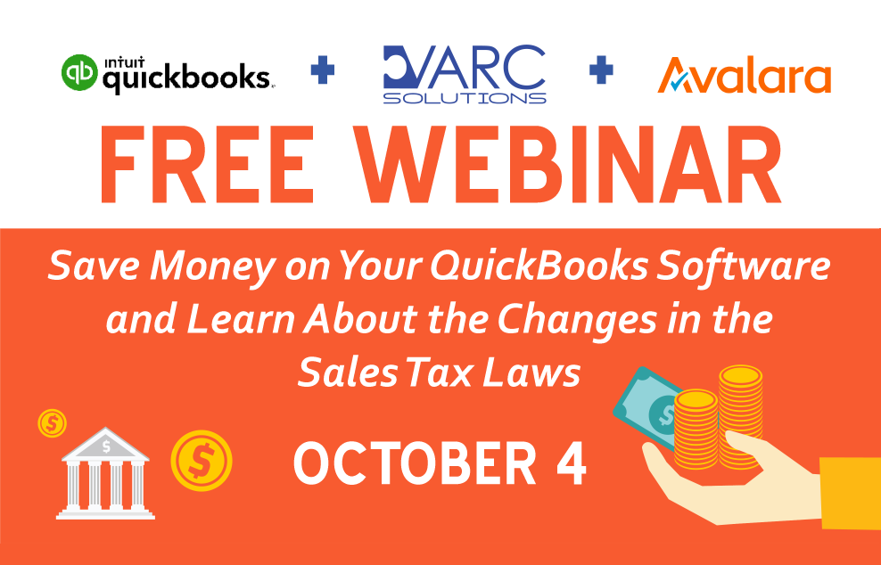QuickBooks + AvaTax Bundle: VARC Solutions