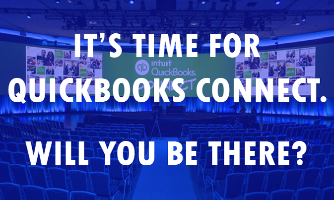 It's Time For QuickBooks Connect, Will You Be There?