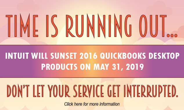Intuit Will Sunset 2016 QuickBooks Desktop Products