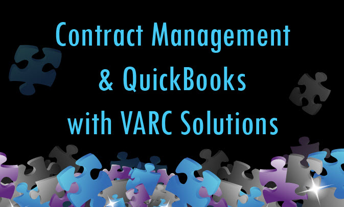 Contract Management And QuickBooks With VARC Solutions