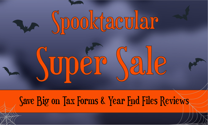 Spooktacular Super Sale