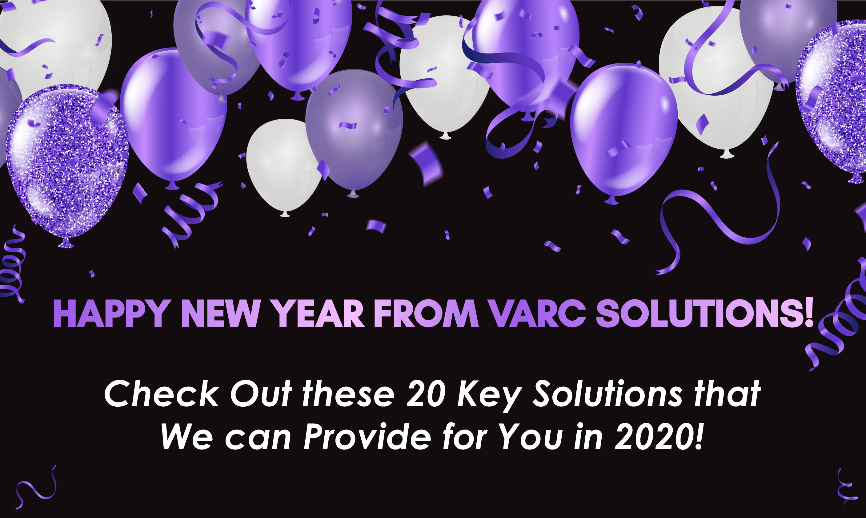 20 Key Solutions For Your Business In 2020!