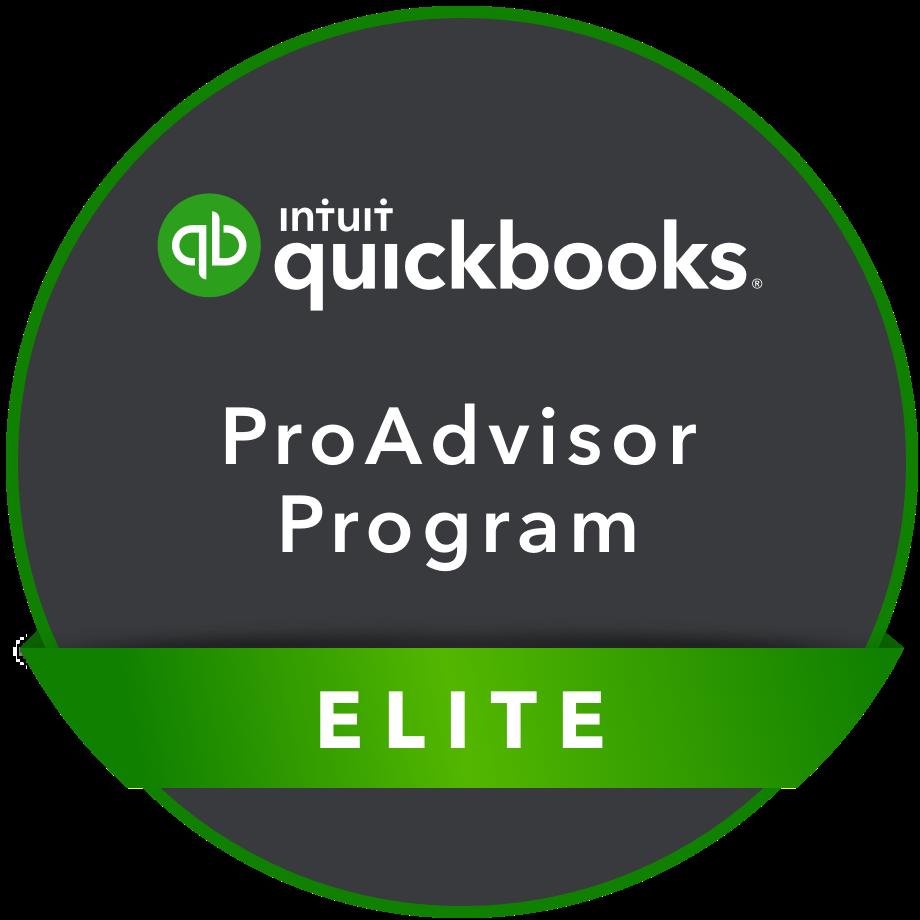 Elite QuickBooks ProAdvisor Program Badge