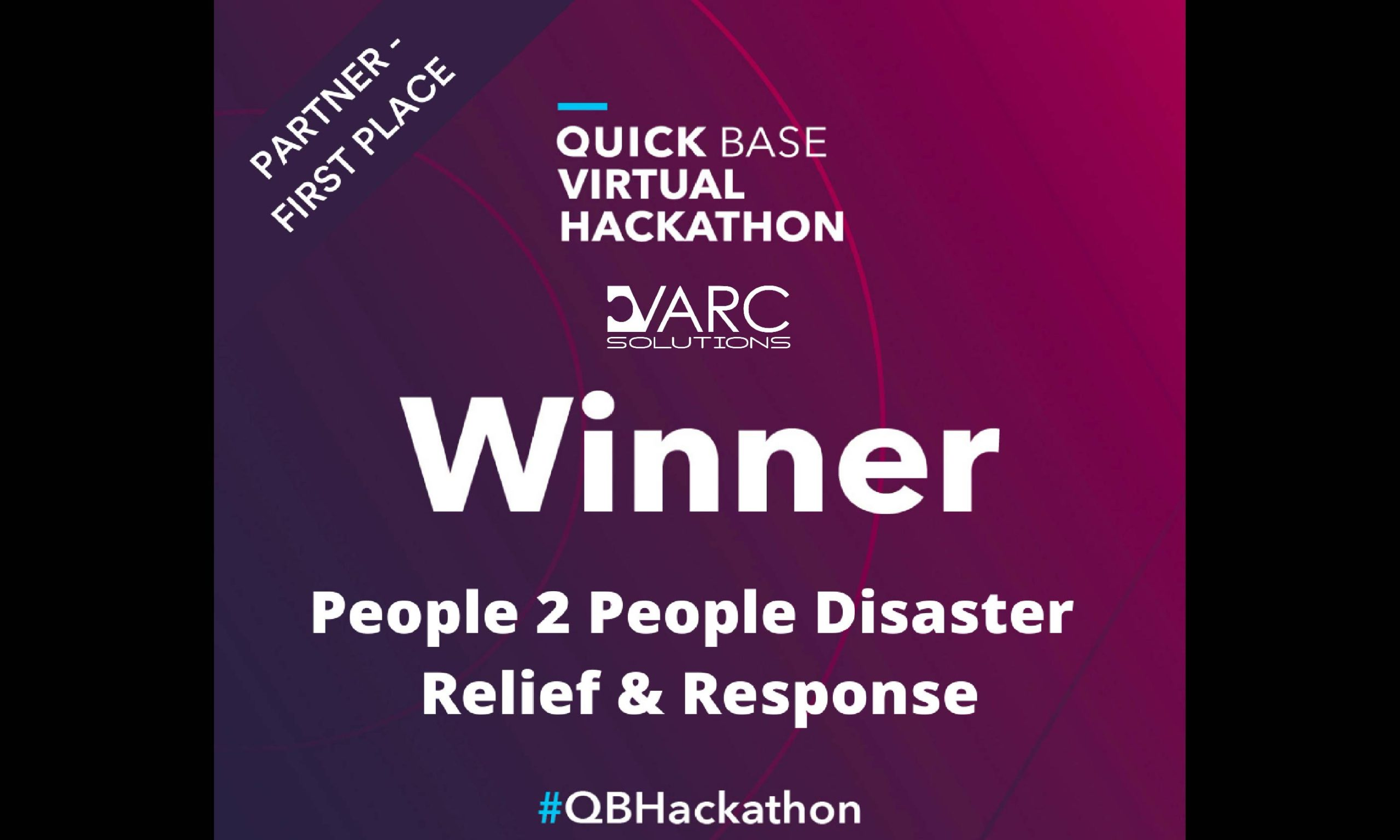 Quick Base Hackathon Winner