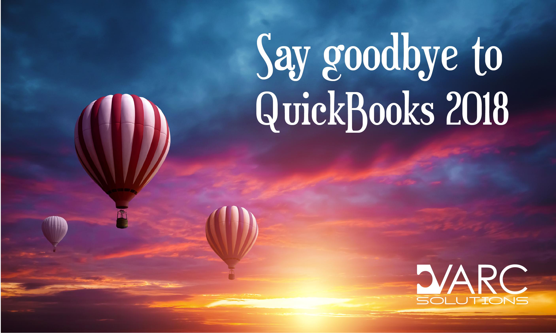 QuickBooks Sunset 2018